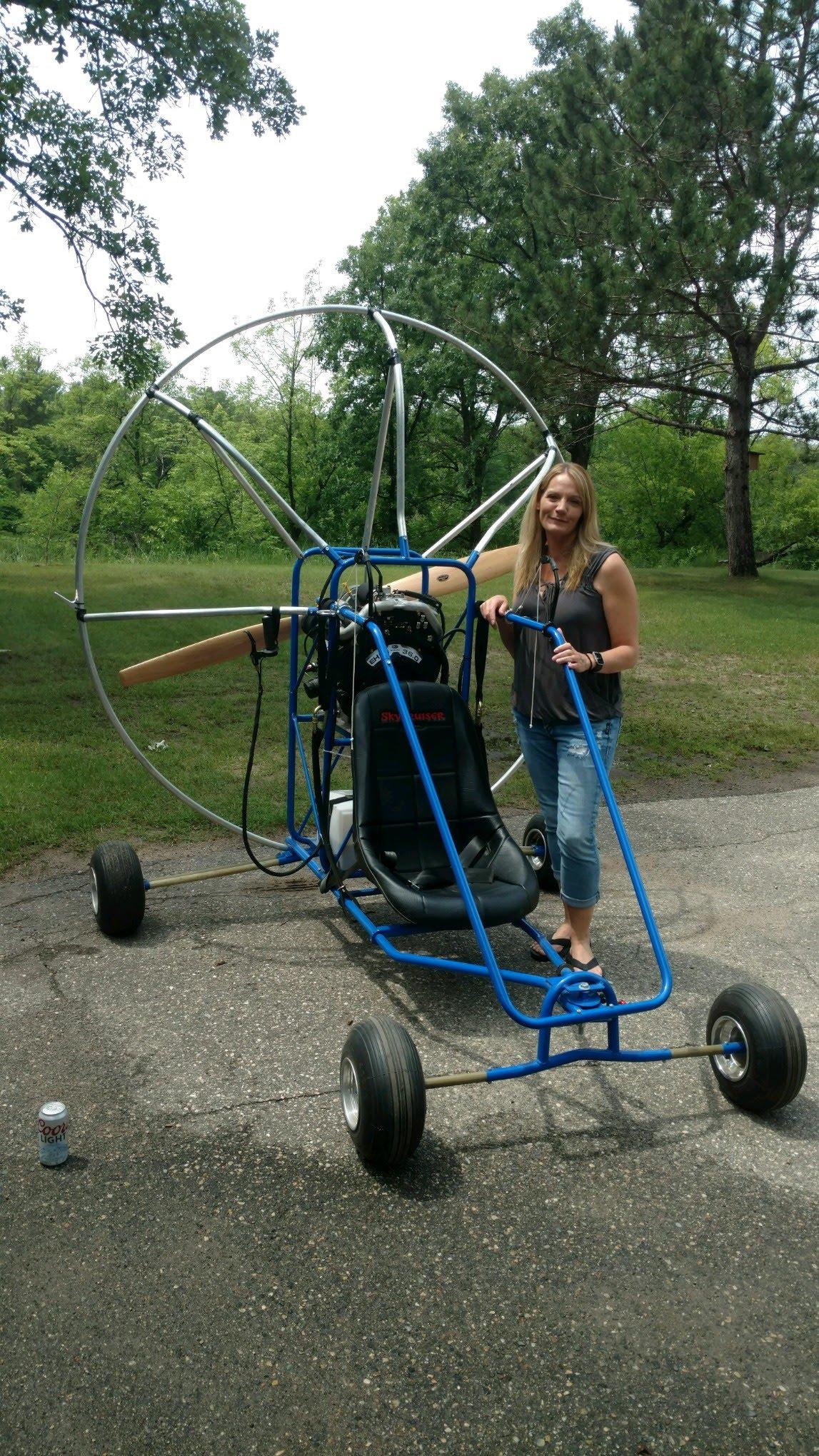 Skycruiser 4-stroke Powered Paraglider